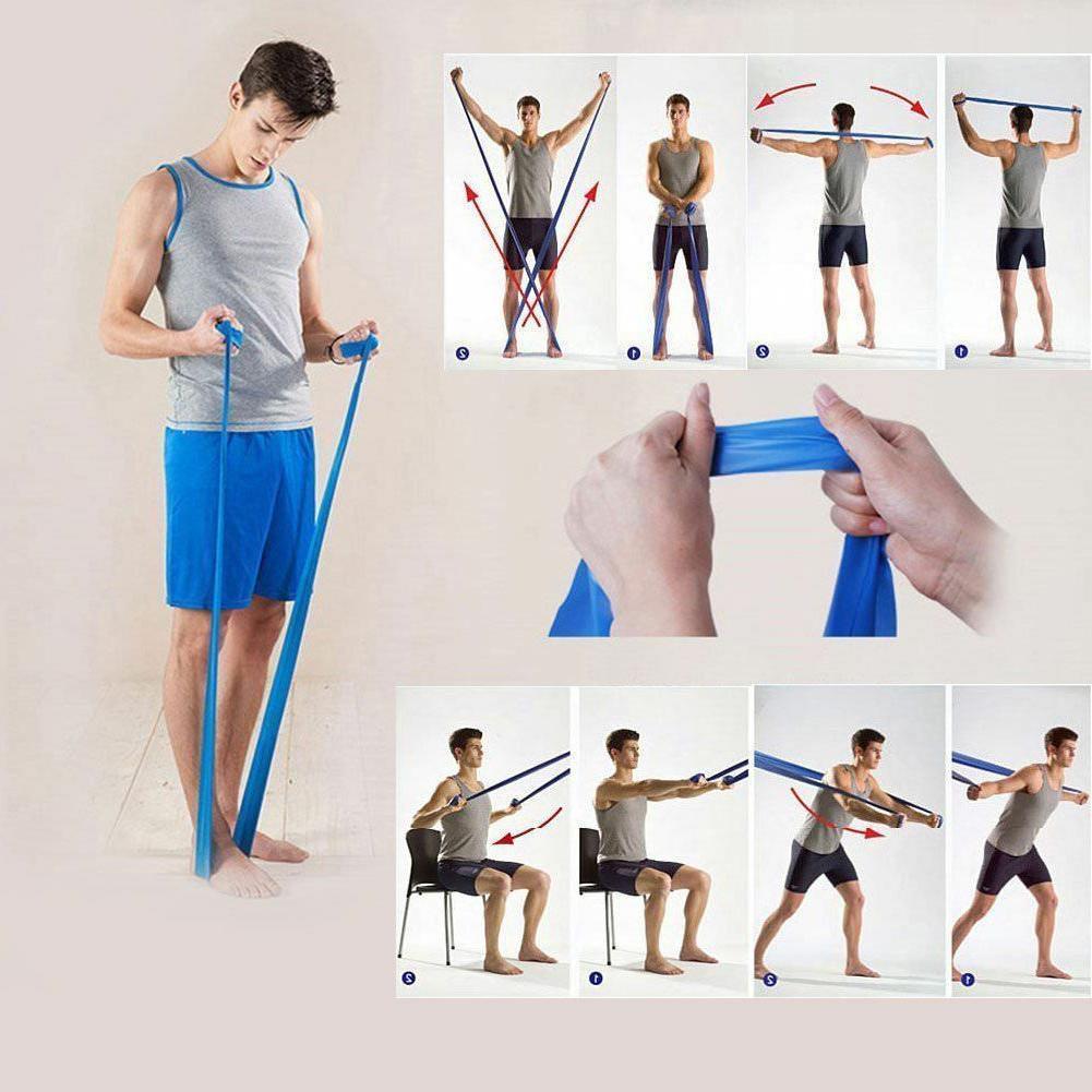 Elastic Fitness Equipment Yoga Pilates Resistance