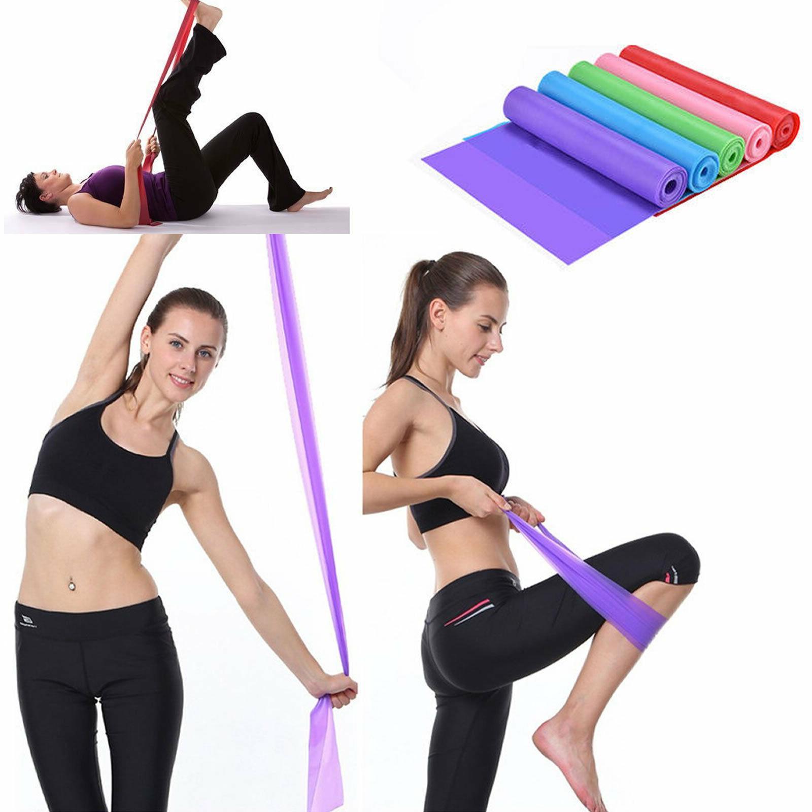 Elastic Fitness Rubber Equipment Yoga Pilates Resistance