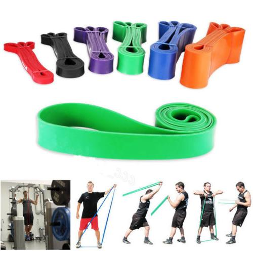 sport resistance loop band exercise yoga bands
