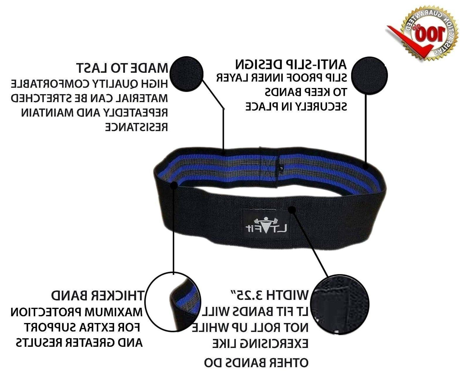 Elastic Non Slip Hip Resistance Equipment Yoga Fitness