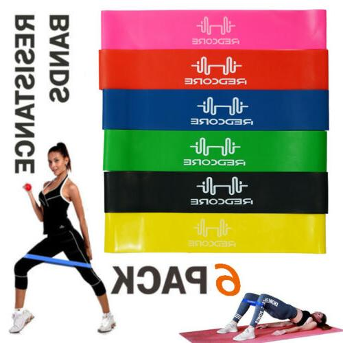 elastic resistance band exercise yoga