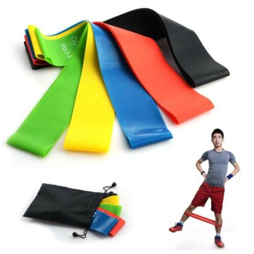 Elastic Resistance Muscle Workout Bands Fitness Equipment