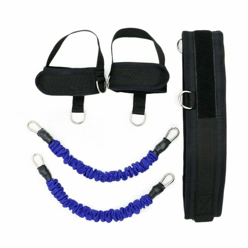 Elastic Resistance Training Bands Trainer Jump Strength Agility