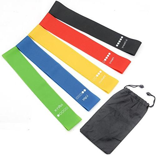 exercise bands resistance fitness loops