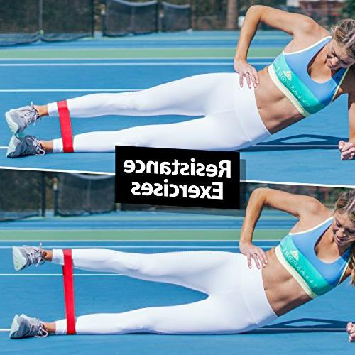 URBNFit Exercise Bands Workouts, Stretching and - Booty