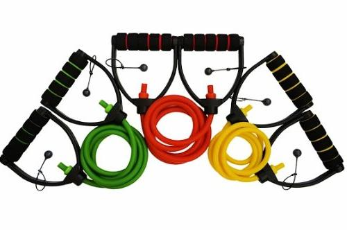 DYNAPRO Bands Workout Equipment D Adjustable Length, and Tension