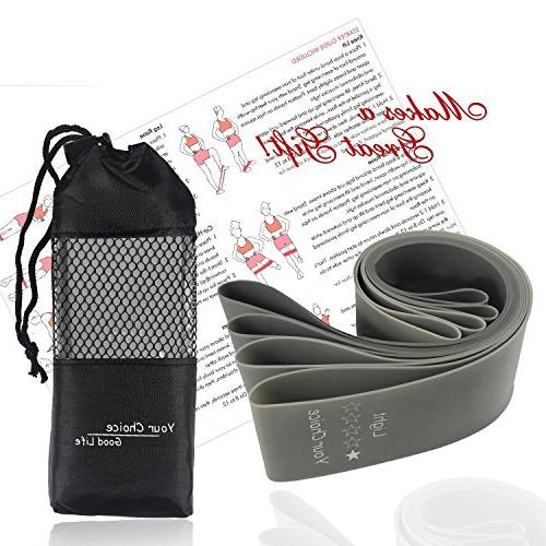 Your Choice Bands for Butt Exercise Bands Work Bands for Men 12 x Set of