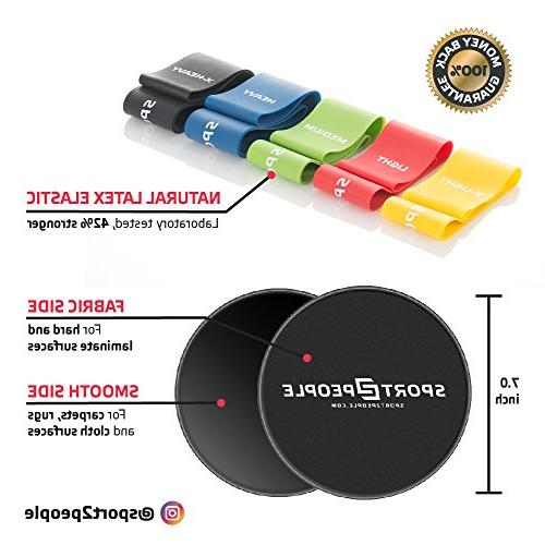Sport2People Resistance and 4-Week Program Full Body Training Home Set Double and Bands