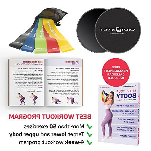 Sport2People Resistance and Sliders 4-Week Program for Full Home - Double Bands