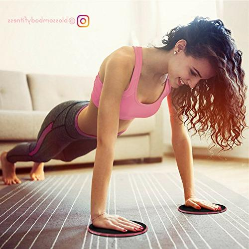 BLOSSOMBODY Exercise Resistance Workout for   Inch Resistance and Core   Home Fitness Perfect Legs  