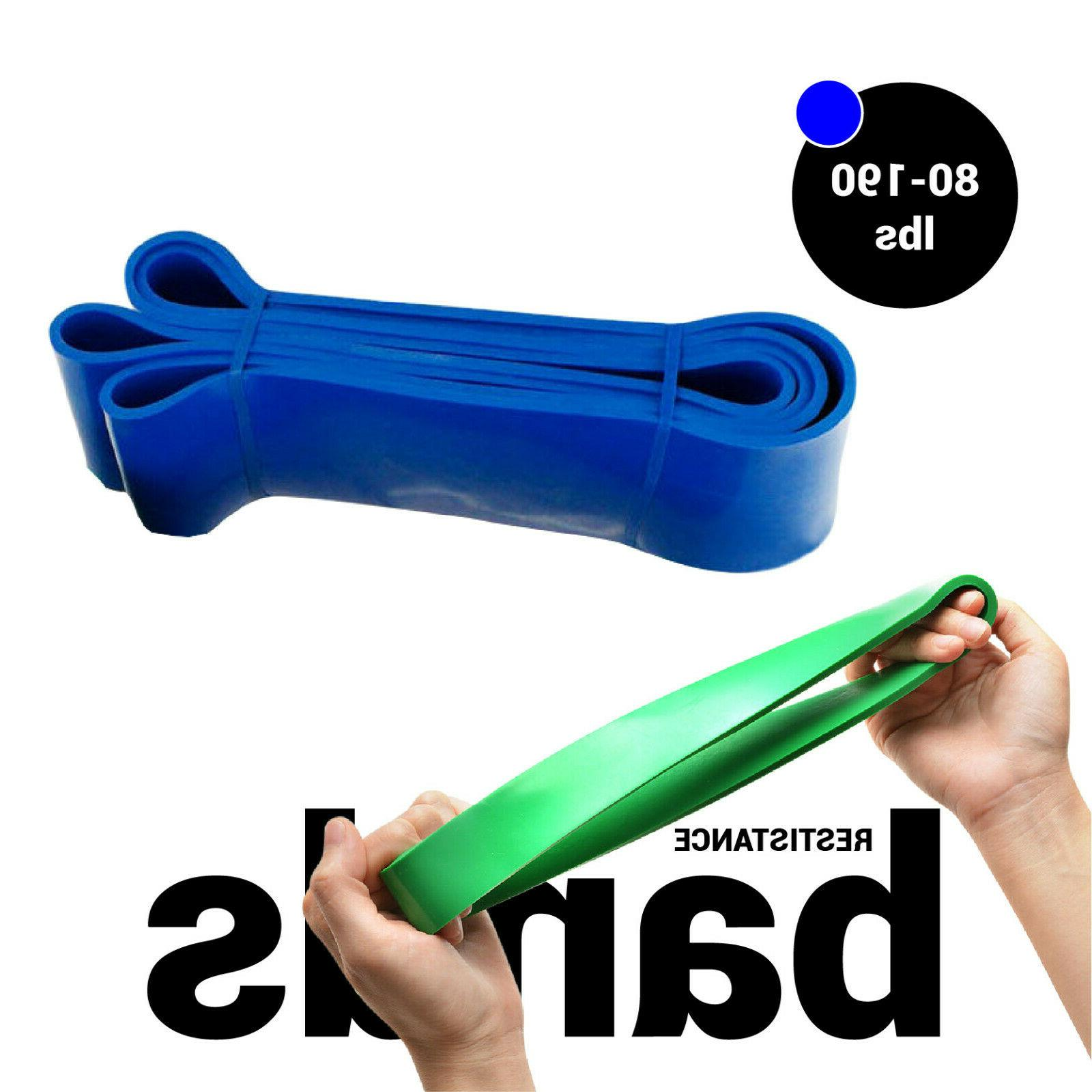 Exercise Yoga Heavy Power Gym Fitness Resistance Band Workout