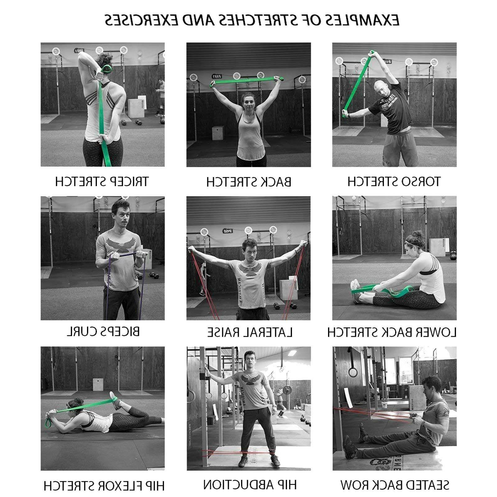 Extra Top Workout Exercise Bands -SINGLE