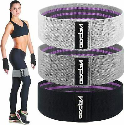 fabric resistance bands for legs and butt