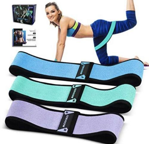 fabric resistance bands leg booty hip exercise