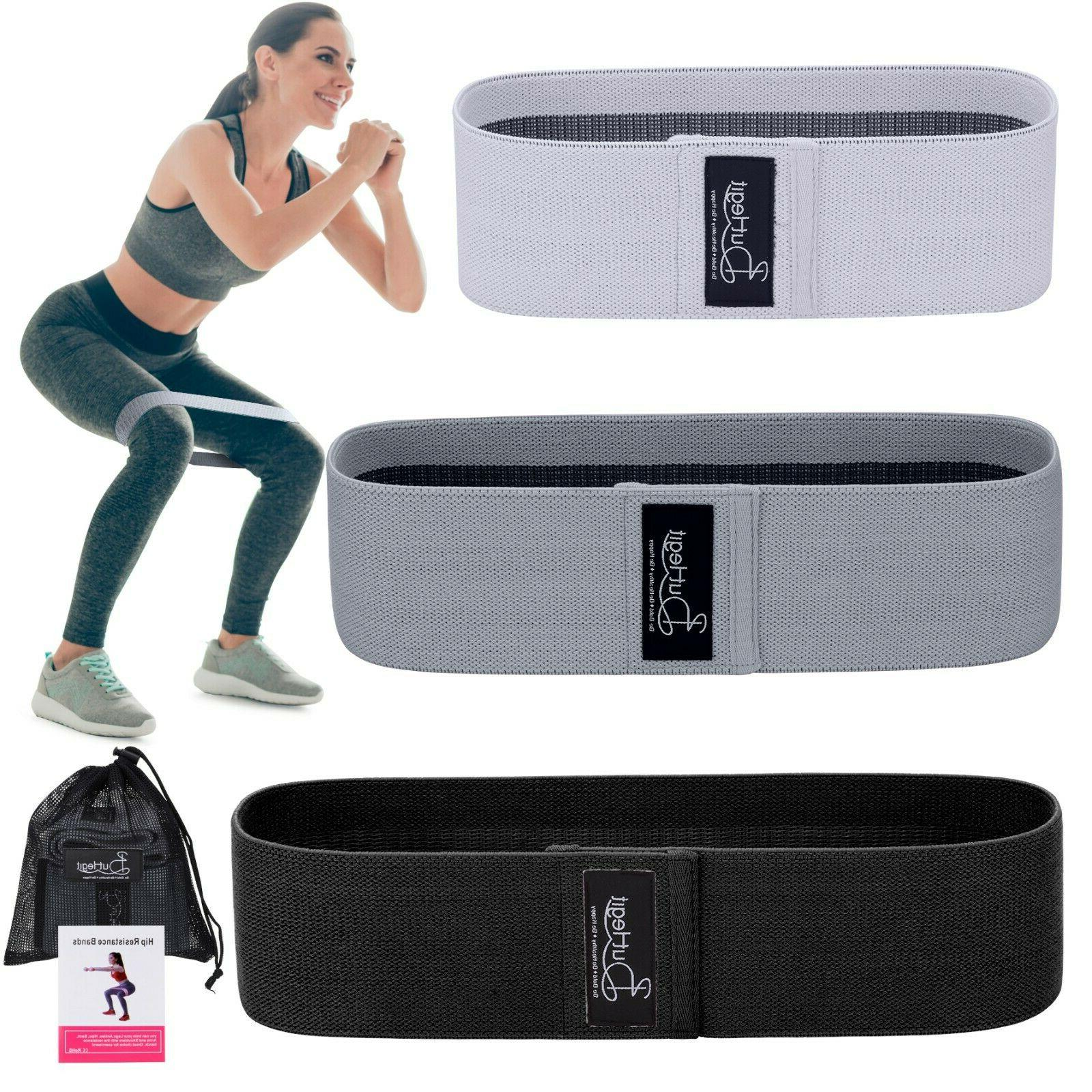 fabric resistance bands non slip thick