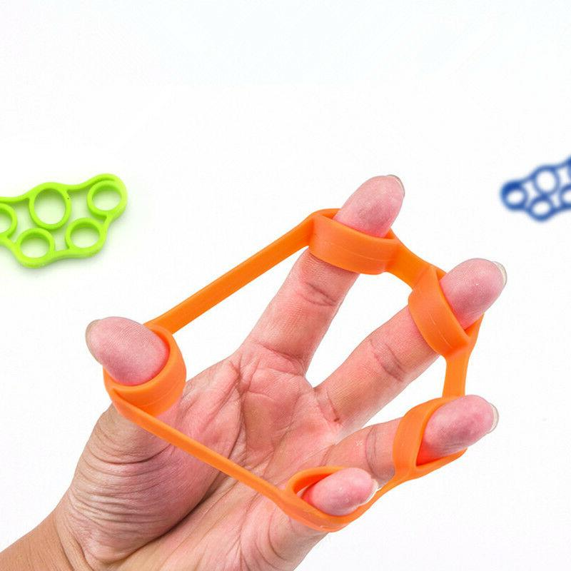 Finger Hand Exerciser Strengthener Wrist Forearm Grip Traine