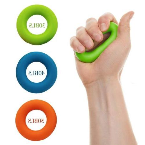 Exercise Resistance Bands Grip Strength Forearm