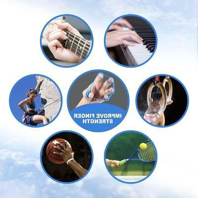 Finger Stretcher Bands Extensor Exerciser Strengthener 3pcs
