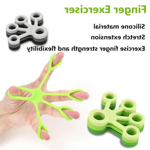 Finger Hand Exercise Bands Exercise