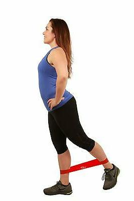 Fit Simplify Exercise Bands with Instruction Guide, Carry