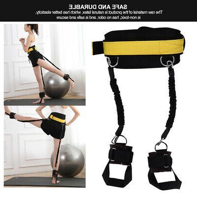 Fitness Bounce Trainer Rope Resistance Band Running