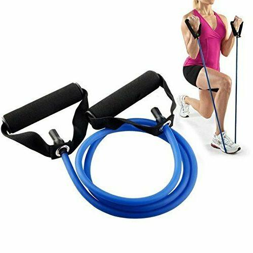 Fitness Equipment Elastic Pull Ropes Resistance Gym Natural Latex