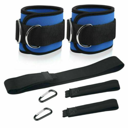 1Pair Ankle Strap Leg Pulley Machine Gym Cable Attachment We