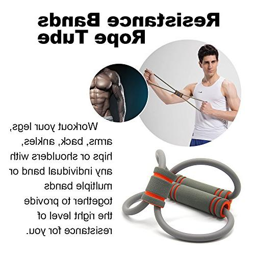 Fitness Liveup SPORTS Multifunction Bodybuilding Hand Jump Rope Resistance Toning Soft Dumbbell 4 1 Set