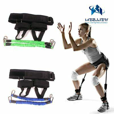 fitness jumping vertical trainer jump resistance bands