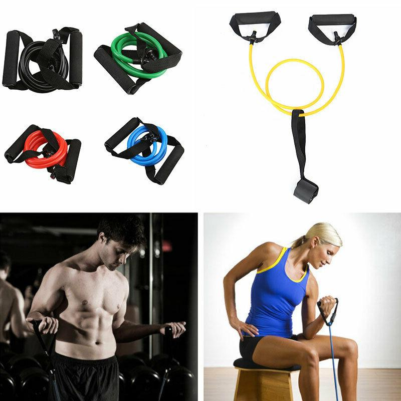 Fitness Latex Pilates Equipment Gym Pull Tube