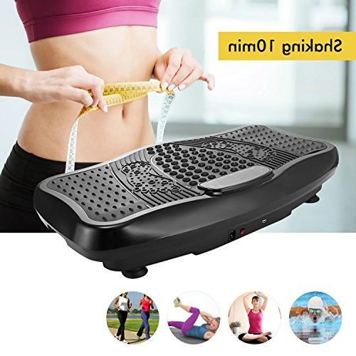 ANCHEER Fitness Plate, Full Exercise Machine USB Resistance Bands