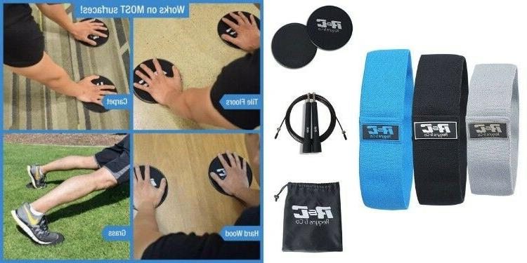 7 FITNESS 2 Core Resistance Loop Bands