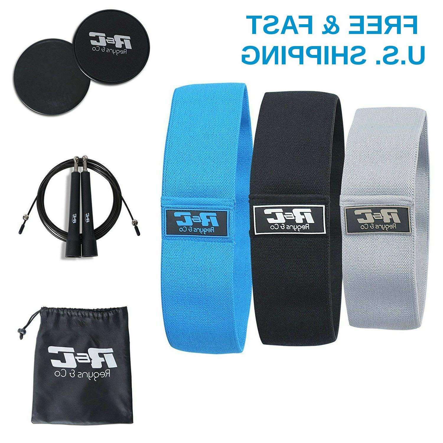 fitness set 2 core sliders 3 resistance