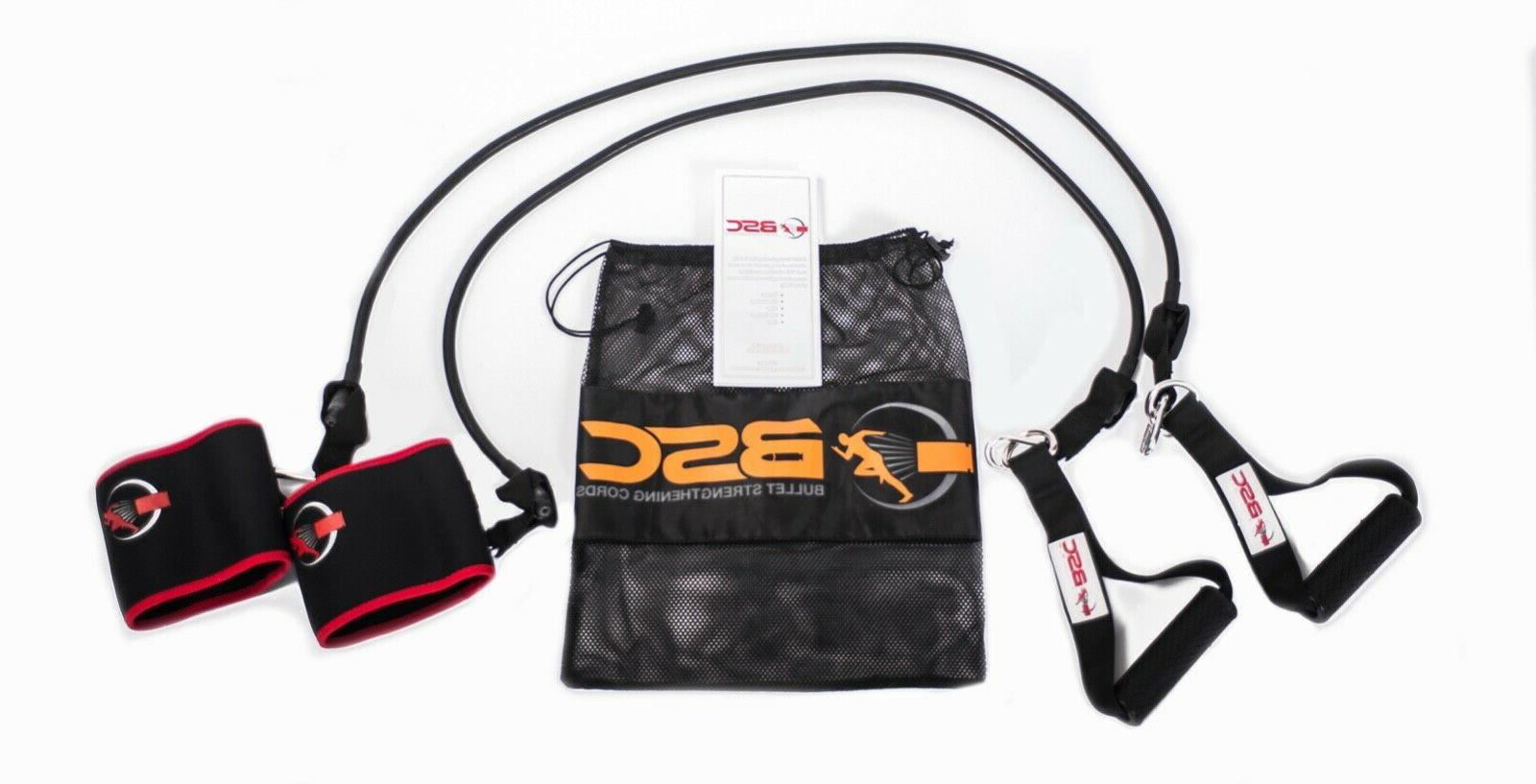 fitness sports resistance bands belt set bouncing