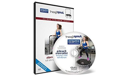 fitness trampoline workout dvds cardio focused resistance