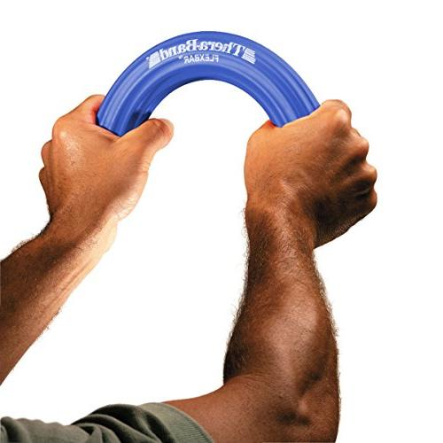 TheraBand Therapy Bar, Relieve Pain Grip Golfers & Tendinitis, Blue, Advanced
