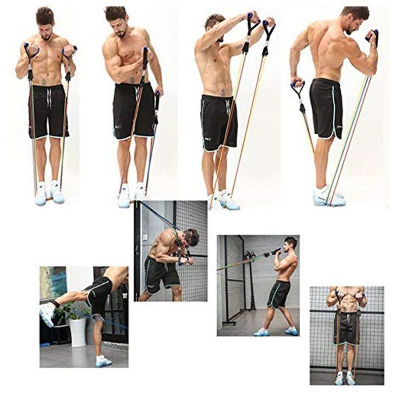 <font><b>Resistance</b></font> <font><b>Set</b></font> Muscle <font><b>with</b></font> Ankle Fitness Gym Training