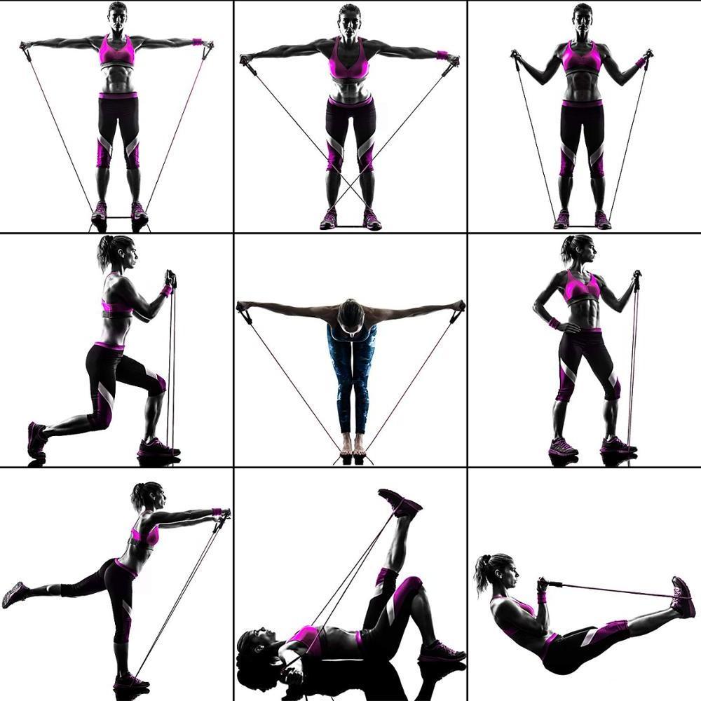 <font><b>Resistance</b></font> Fitness Workouts Door Ankle Straps Training <font><b>Exercise</b></font>