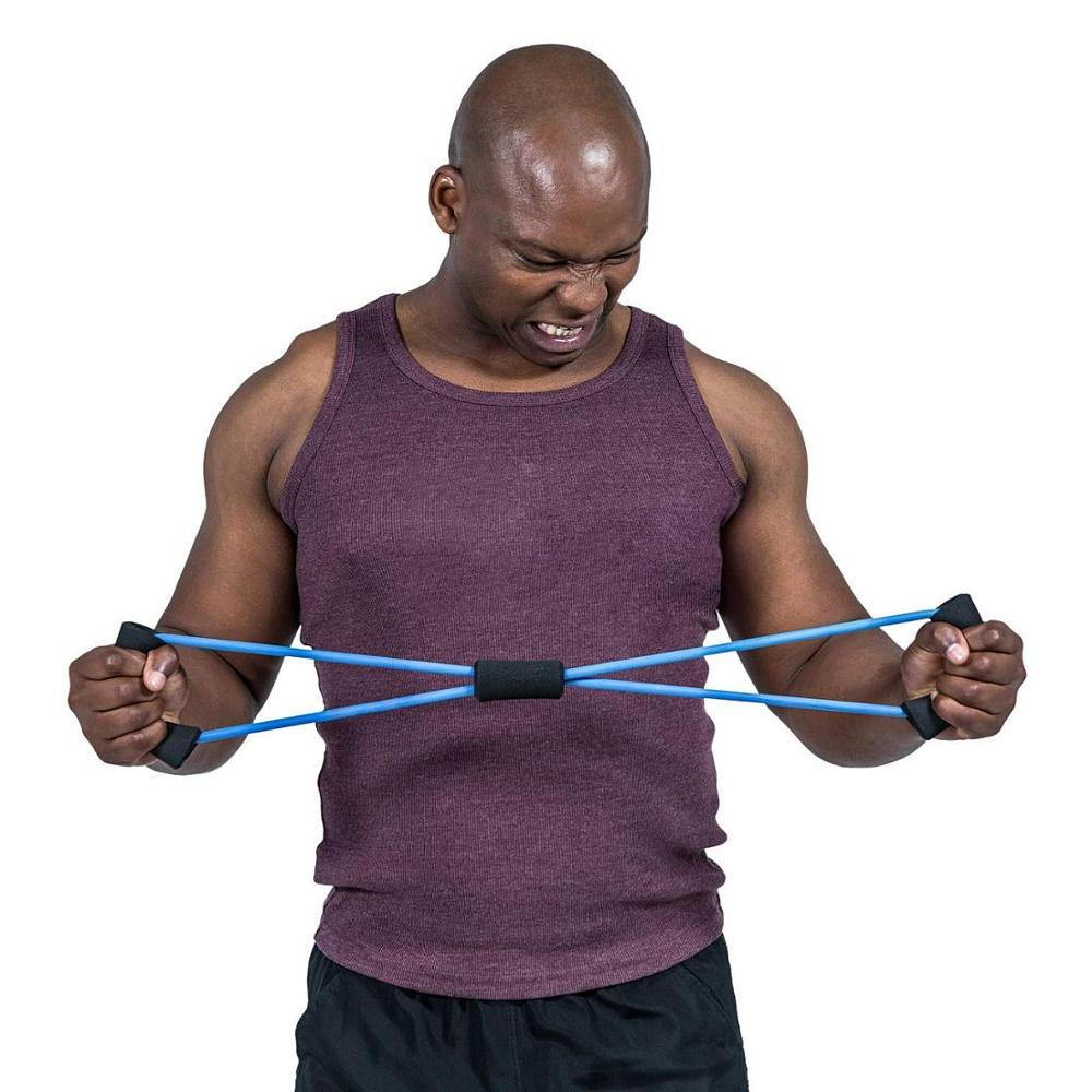 <font><b>Resistance</b></font> Home Workouts Set Chest Door Straps Training <font><b>Physical</b></font> <font><b>Therapy</b></font> <font><b>Exercise</b></font>