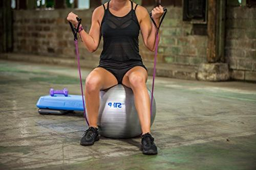 Step with Adjustable Risers Ball Workout Need for Sports Fitness