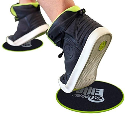 SYOURSELF of Dual Sided Gliding Discs Core Sliders or+5 Resistance for Gym,Home,Travel,Carpet,Hard Fitness Bag