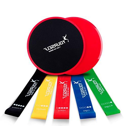 SYOURSELF 2 Dual Core or+5 Loop Resistance for Abdominal,Strengthen, Fitness