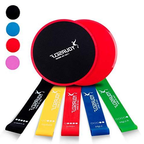 gliding discs core sliders 5
