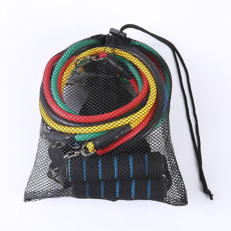 Gym <font><b>Resistance</b></font> <font><b>Bands</b></font> Rope Muscle Sport Training Workout Sport Elastic