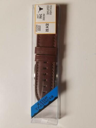 hadley roma 24mm tan genuine leather water