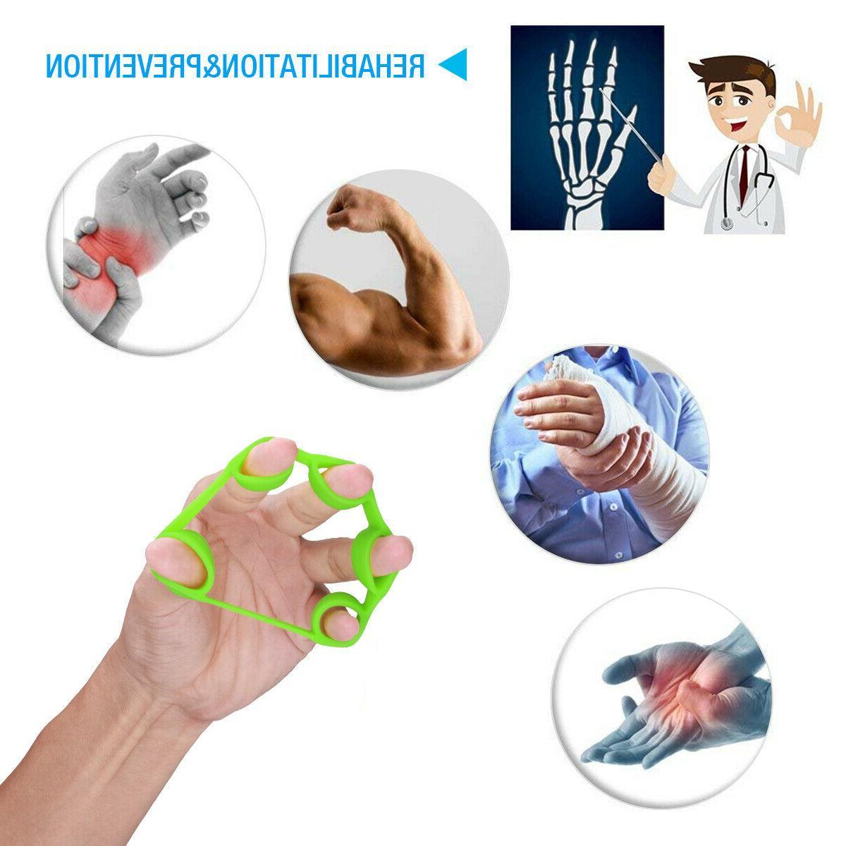 6PCS Resistance Finger Grip