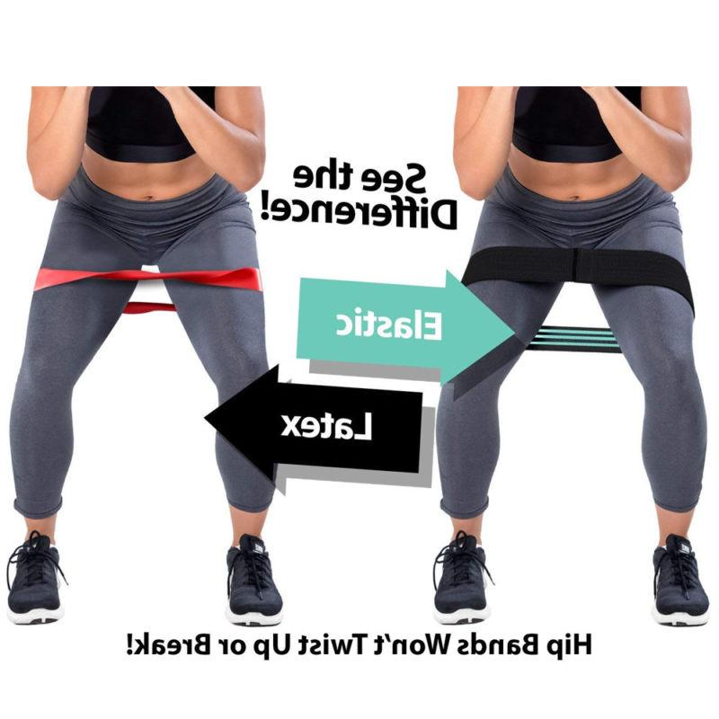 Heavy Resistance Bands Booty Pilates Gym C2