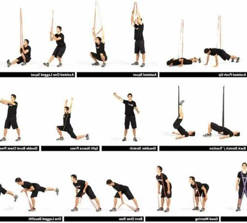 Heavy Duty Set Loop Gym Fitness