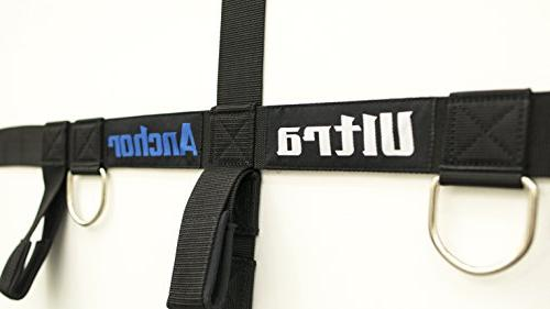 Bodylastics Bands Ultra Anchor with super webbing, reinforced stitching, Heavy D-Rings.