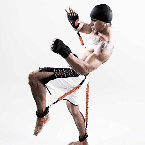 Ranbo fitness bands with Leg strength strap football basketball taekwondo equipment